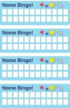 ESL Games - Name Bingo