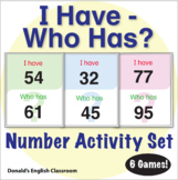 ESL Games - Numbers - I Have Who Has? 1-100