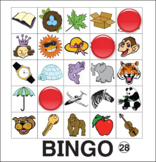 ESL Games-Phonics Bingo 1