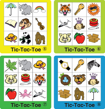 ESL Games-Phonics Tic-Tac-Toe 1