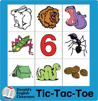 ESL Games-Phonics Tic-Tac-Toe 2