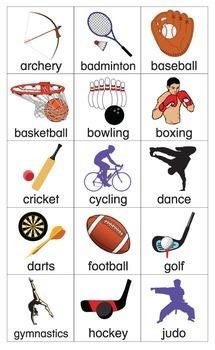ESL Games-Sports Bingo