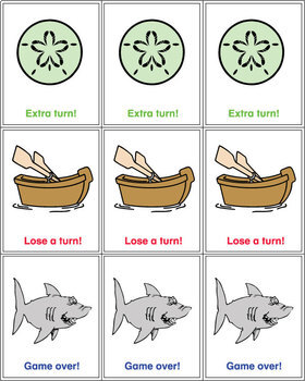 CVC Word Game Set Swimming with Sharks