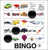 ESL Games-Transportation Bingo