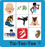 ESL Games-Verb Tic-Tac-Toe