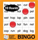 ESL Games-Word Bingo