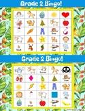 ESL Grade 2 : End of Year Bingo