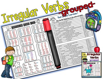 how to learn irregular verbs in english