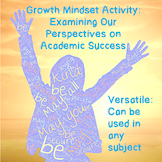 ESL Growth Mindset Activity