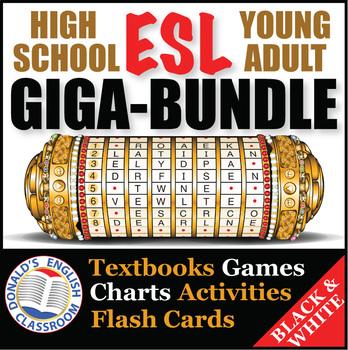 ESL High School & Adult Giga Bundle