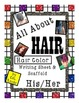 ESL Hair Color Writing Prompt Pictures and Scaffold Possessive Pronoun His Her