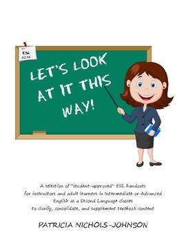 50+ ESL Handouts for Adult Learners--PDF version