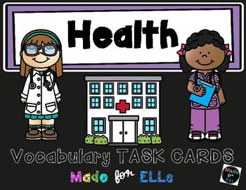 ESL Health Task Cards