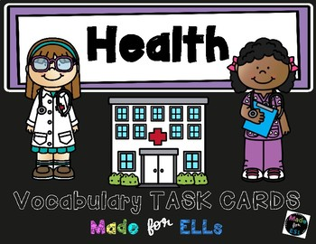 ESL Health Task Cards