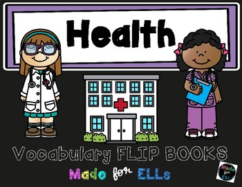 ESL Health Vocabulary Flip Books