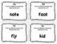 ESL Homonym Task Cards
