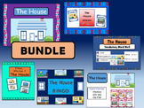 ESL House Vocabulary BUNDLE –The House Vocabulary in English