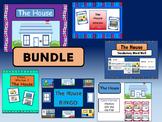 ESL House Vocabulary BUNDLE –The House Vocabulary in English