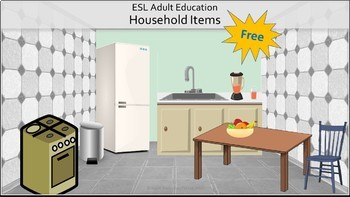 Household Items and Rooms: ESL Review