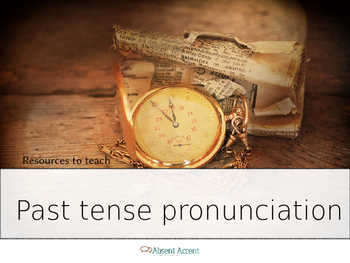 ESL How to pronounce past tense words