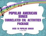 ESL - ESL Activities Package of Popular Songs