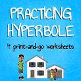 ESL Hyperbole Worksheet Packet