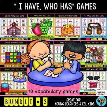 ESL I have, who has Games | Bundle # 3
