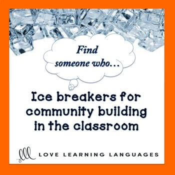 Ice Breaker Activity: Find someone who...