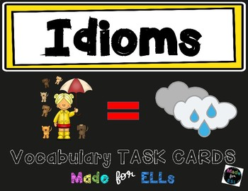 ESL Idiom Task Cards