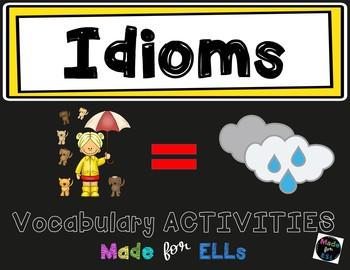 ESL Idiom Vocabulary Activities