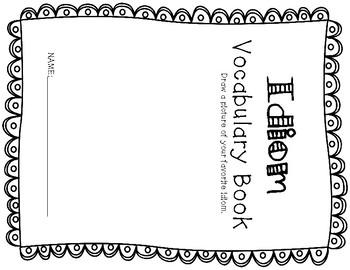 ESL Idiom Vocabulary Flip Books
