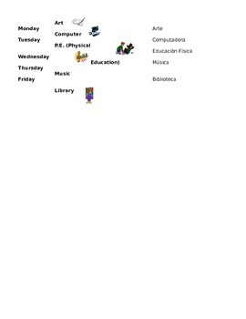 ESL Interactive Binder