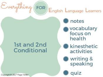 ESL Intermediate: 1st & 2nd Conditional