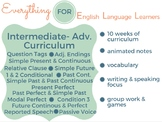 ESL Intermediate/ Advanced Level Curriculum