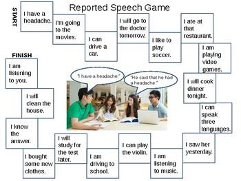 ESL Intermediate: Reported Speech