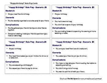 ESL Intermediate-Advanced Role Play