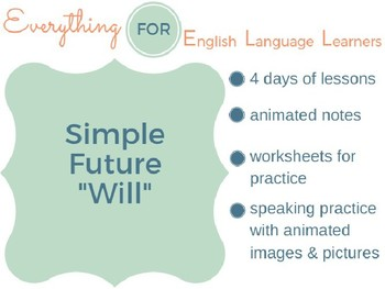 "ESL Intermediate: Future Simple ""Will"""