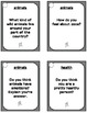 ESL Intermediate Level - 83 Conversation Cards and Speaking Prompts