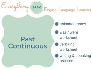 ESL Intermediate: Past Continuous