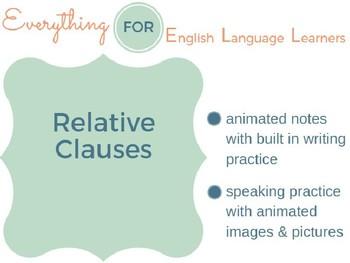 ESL Intermediate: Relative Clauses