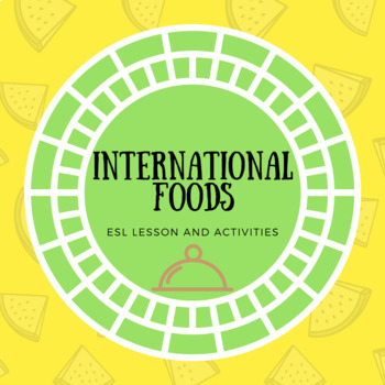 ESL Conversation - Food/cuisine Vocabulary and Review Worksheets