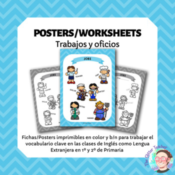 [POSTER][WORKSHEET] Jobs vocabulary - years 1 & 2