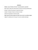 ESL Judaism Vocabulary Note Sheet