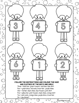esl kids colouring page follow instructions and colour the picture. Black Bedroom Furniture Sets. Home Design Ideas