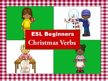 ESL Kids: ESL Beginners: Christmas Verbs