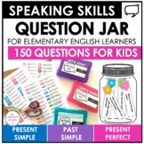 ESL Speaking Activity for Kids  - Present and Past Tense Q