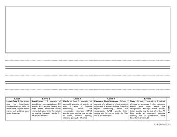 ESL Kindergarten Journal Paper