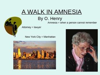 A Walk in Amnesia by O.Henry