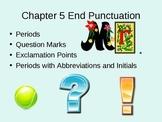 End Punctuation for ELLs