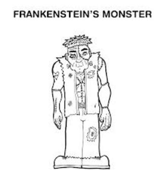 Frankenstein's Monster Body Parts (SmartBoard FIle)